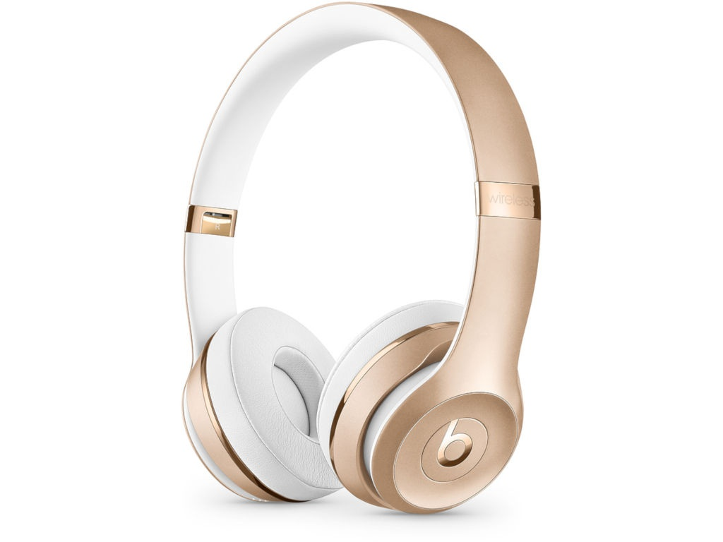 цена на Beats Solo3 Wireless Headphones Gold MNER2EE/A