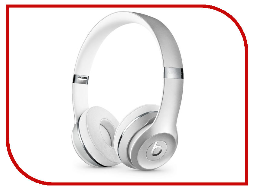 Beats Solo3 Wireless Headphones Silver MNEQ2EE/A