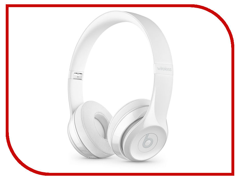 Beats Solo3 Wireless Headphones Gloss White MNEP2EE/A