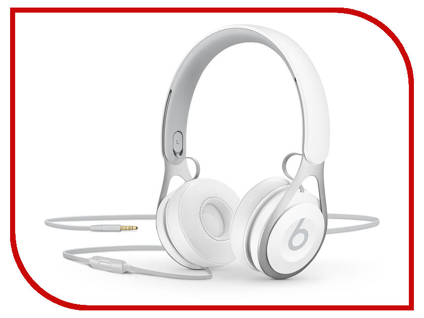 Beats EP Headphones White ML9A2EE/A