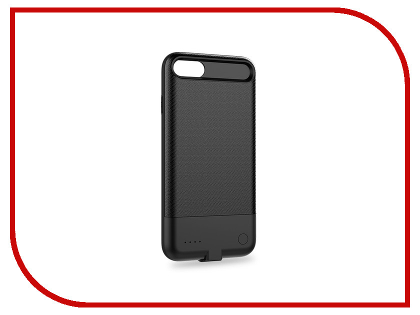 Аксессуар Чехол-аккумулятор для APPLE Iphone 7 Plus Rock P11 3650mAh Black аксессуар чехол rock jazz series для iphone 6 plus red