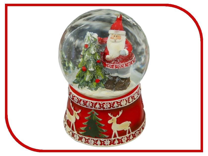 Снежный шар СИМА-ЛЕНД Дедушка Мороз у ёлочки 14.5x10x10cm Музыкальный 3244433 алексей шипицин дедушка2 0 пути неисповедимы…