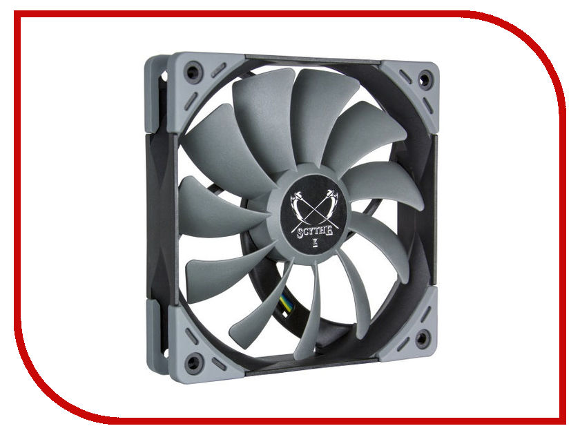 Вентилятор Scythe Kaze Flex 120mm PWM Fan 800rpm SU1225FD12L-RDP цена и фото
