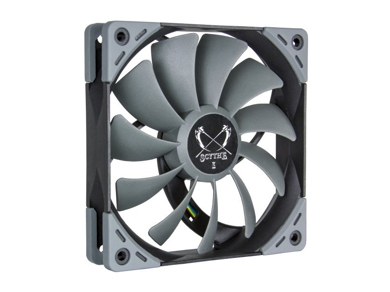 Вентилятор Scythe Kaze Flex 120mm PWM Fan 1200rpm SU1225FD12M-RHP вентилятор scythe kaze flex 120mm pwm fan 800rpm su1225fd12l rdp