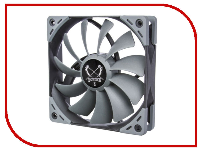 Вентилятор Scythe Kaze Flex 120mm Fan 800rpm SU1225FD12L-RD цена и фото