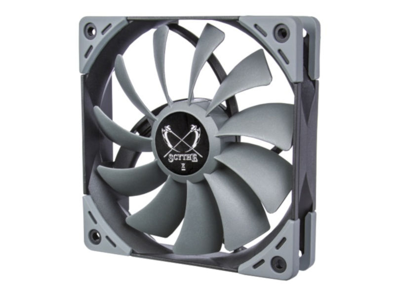 Вентилятор Scythe Kaze Flex 120mm Fan 800rpm SU1225FD12L-RD вентилятор scythe kaze flex 120mm pwm fan 800rpm su1225fd12l rdp