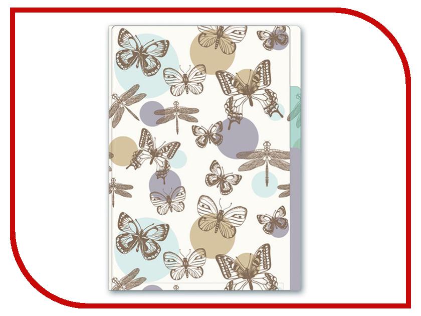 Папка Феникс+ Бабочки А5 18.5x23cm 47015 феникс 33845