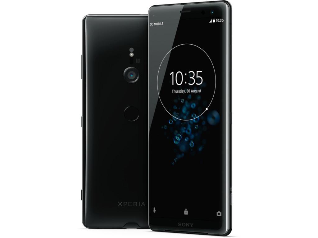 Сотовый телефон Sony Xperia XZ3 4/64GB Black сотовый телефон sony xperia xz2 compact black