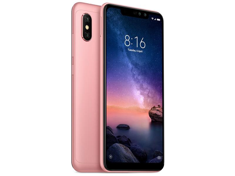 Сотовый телефон Xiaomi Redmi Note 6 Pro 3/32GB Rose Gold сотовый телефон xiaomi redmi note 5 3 32gb black