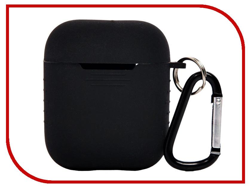 Аксессуар Чехол Activ для APPLE AirPods Black 88003 аксессуар чехол dux ducis leather для apple airpods premium black 906252