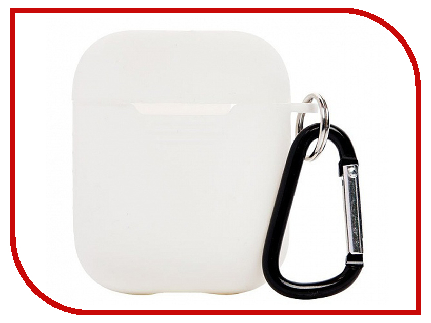 все цены на Аксессуар Чехол Activ для APPLE AirPods White 88004 онлайн