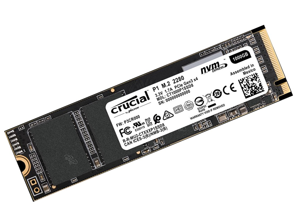 Жесткий диск Crucial CT1000P1SSD8 crucial technology bls8g3d1609ds1s00
