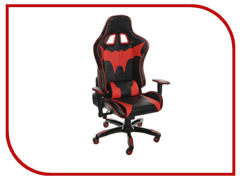 Компьютерное кресло TetChair iBat искусственная кожа Black-Red 12 468 компьютерное кресло tetchair racer black red 36 6 08
