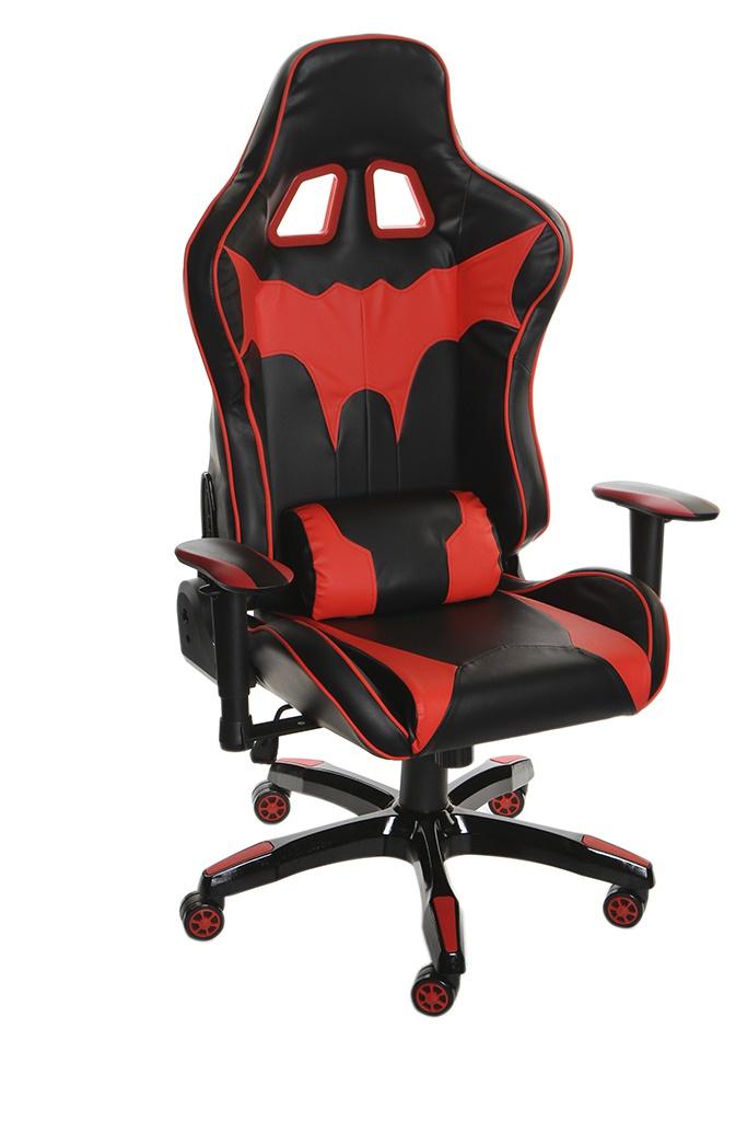 Компьютерное кресло TetChair iBat искусственная кожа Black-Red 12468