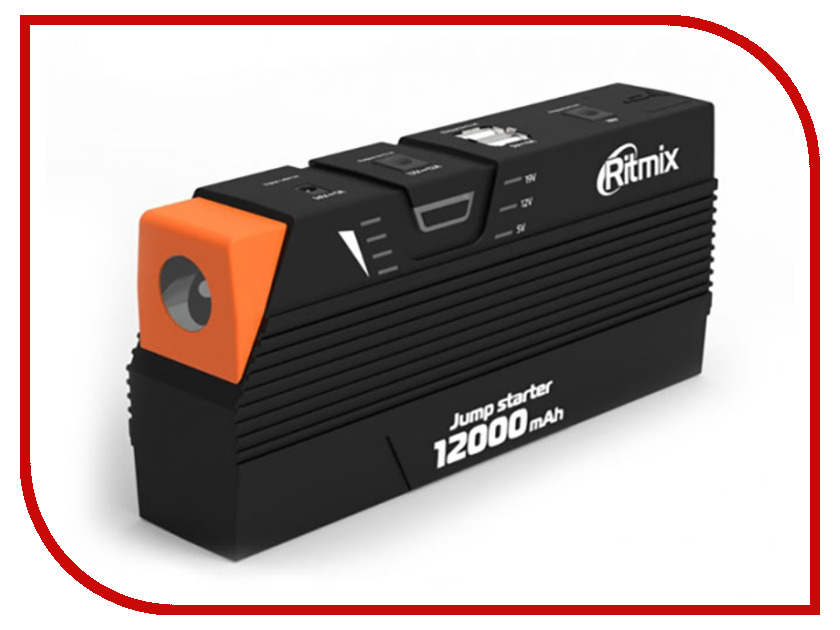 Устройство Ritmix RJS-12000 Black-Orange