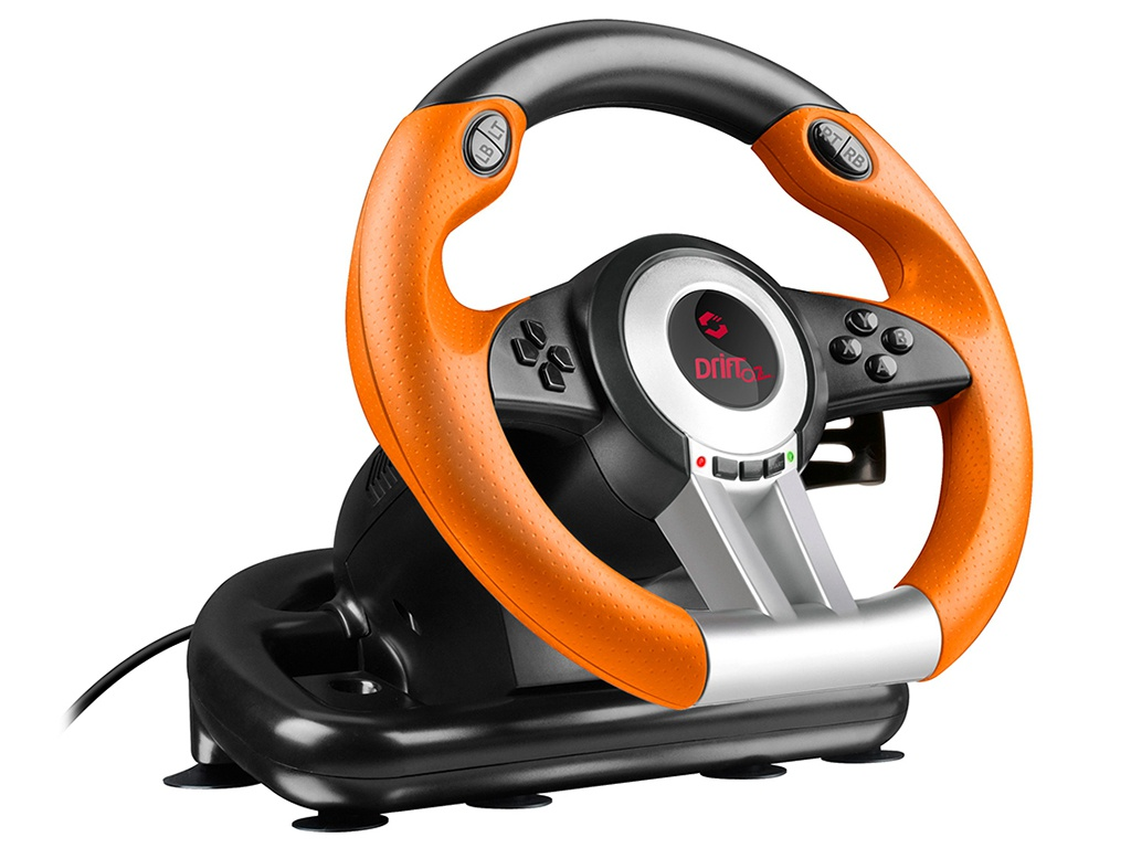 Руль Speedlink DRIFT O.Z. Racing Wheel Black-Orange SL-6695-BKOR-01