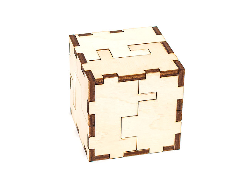 Сборная модель EWA Jigsaw Cube-3D