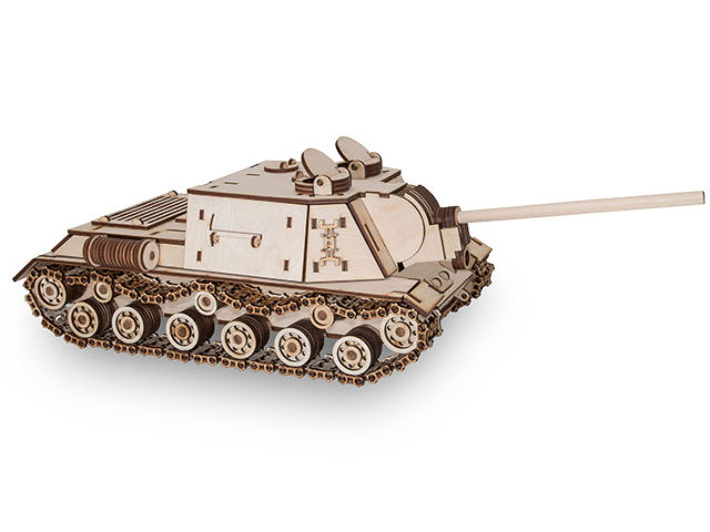 Сборная модель EWA Tank ISU152