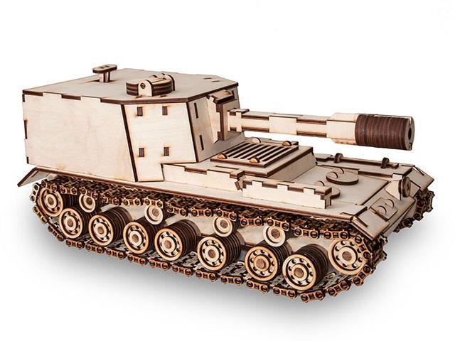 Сборная модель EWA Tank SAU212 цена