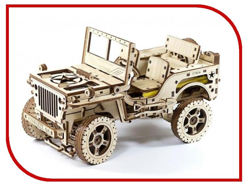 Конструктор Wooden City Полноприводный автомобиль 4x4 5906874128084