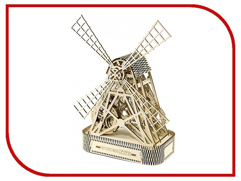 Конструктор Wooden City Мельница 5906874128060