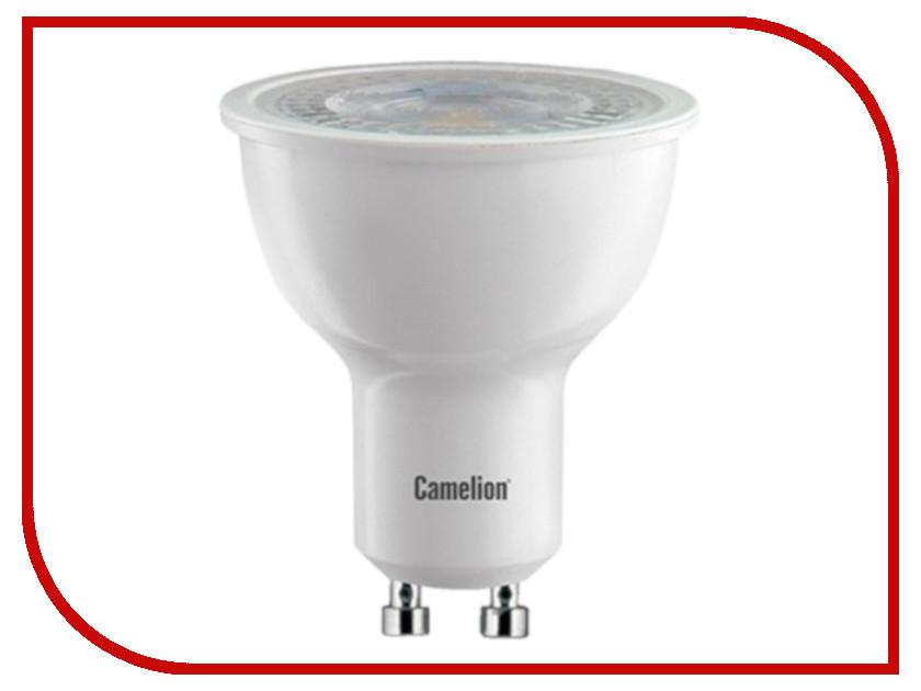 Лампочка Camelion GU10 6W 220V 4500K LED6-GU10/845/GU10 11352 лампочка camelion c35 6 5w 220v e14 4500k 590 lm led6 5 c35 845 e14