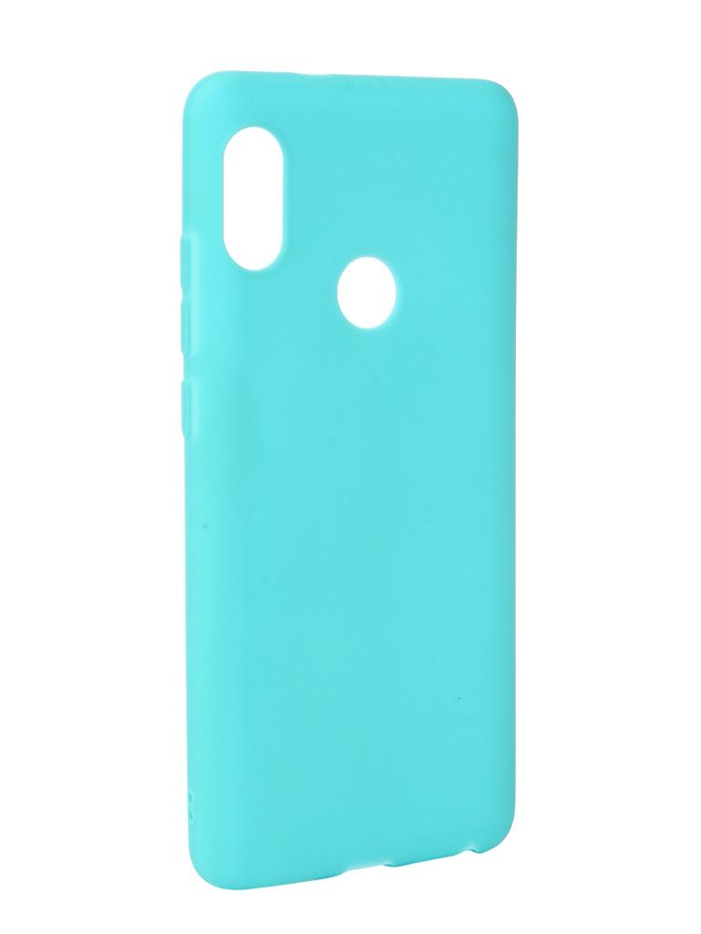 Чехол Neypo для Xiaomi Redmi Note 5 Pro Soft Matte Silicone Turquoise NST3849 цена и фото