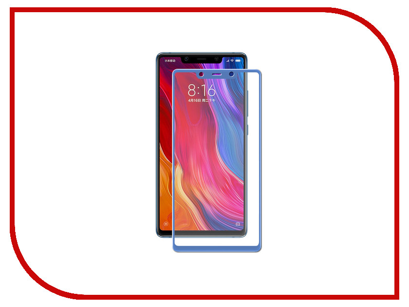 Аксессуар Защитное стекло для Xiaomi Mi8 SE Neypo Full Screen Glass Blue NFG4832 full lcd display with touch screen digitizer assembly for highscreen boost 2 se for innos d10 9169 free shipping