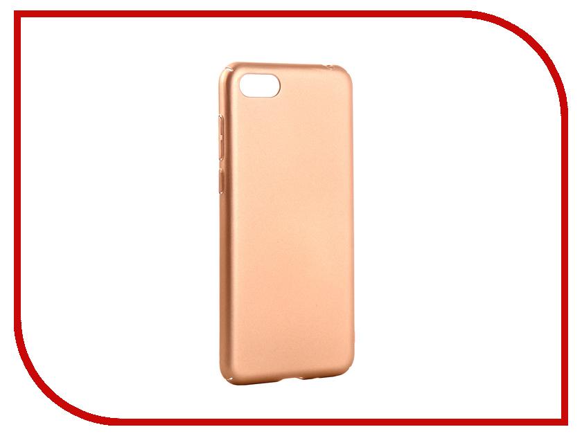 Аксессуар Чехол для Huawei Honor 7A Neypo Soft Touch Gold ST5395 аксессуар чехол для huawei honor 7a neypo premium rose gold nsb5429