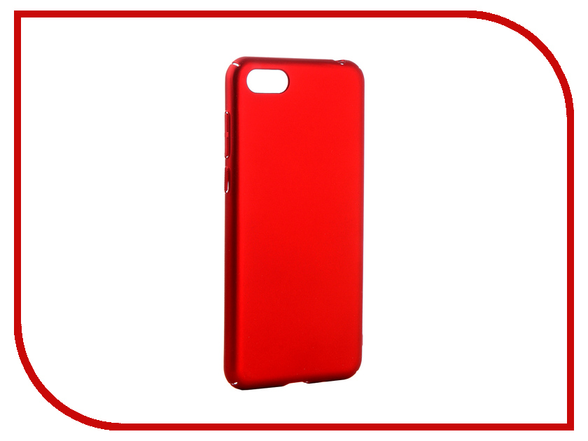 Аксессуар Чехол для Huawei Honor 7A Neypo Soft Touch Red ST5281 аксессуар чехол для huawei p20 neypo soft touch red st4374