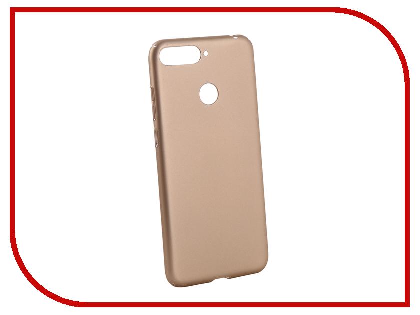 Аксессуар Чехол для Huawei Honor 7A Pro Neypo Soft Touch Gold ST4660 аксессуар чехол huawei honor 7 aksberry gold