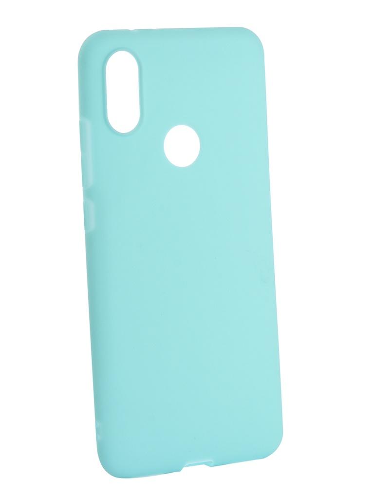Чехол Neypo для Xiaomi Mi A2 6X Soft Matte Silicone Turquoise NST4905