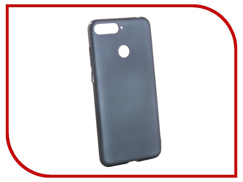 Аксессуар Чехол для Huawei Honor 7C Neypo Soft Touch Dark Blue ST5111