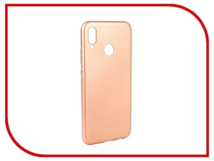 Аксессуар Чехол для Huawei P20 lite Neypo Soft Touch Gold ST4664 аксессуар чехол для huawei p20 neypo soft touch red st4374