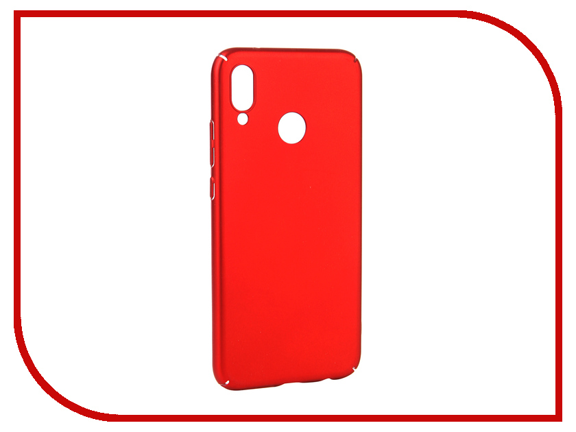 Аксессуар Чехол для Huawei P20 Lite Neypo Soft Touch Red ST4376