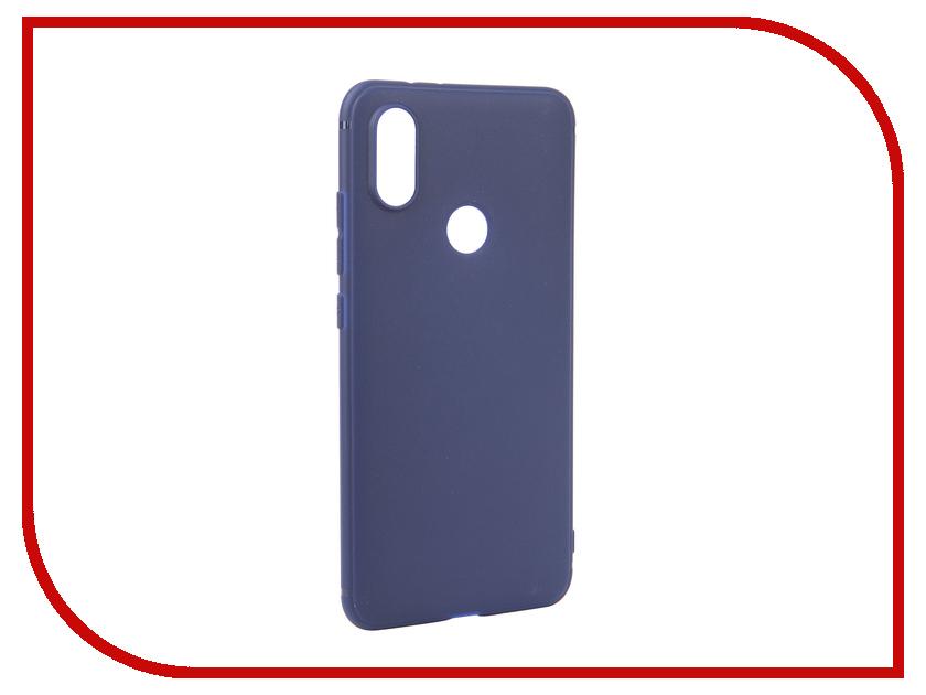 Аксессуар Чехол для Xiaomi Mi A2 Mi 6X Neypo Soft Matte Silicone Dark-Blue NST4814 аксессуар чехол для nokia 6 2018 neypo soft matte silicone dark blue nst4300