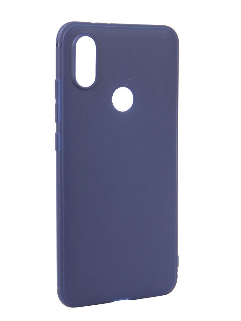Аксессуар Чехол Neypo для Xiaomi Mi A2 Mi 6X Soft Matte Silicone Dark-Blue NST4814 аксессуар чехол для xiaomi redmi 6x mi a2 gurdini soft touch silicone blue 906609