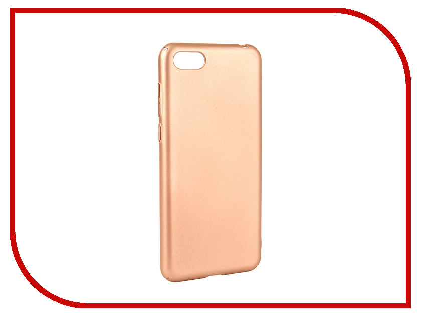 Аксессуар Чехол для Huawei Y5 Prime 2018 Neypo Soft Touch Gold ST5440