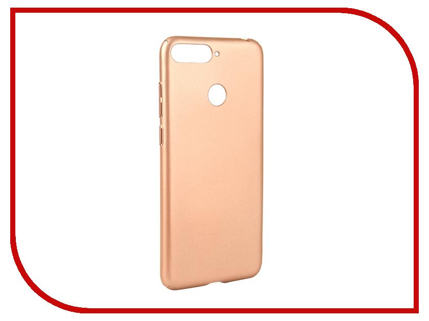 Аксессуар Чехол для Huawei Y6 Prime 2018 Neypo Soft Touch Gold ST4663 аксессуар чехол для huawei p20 neypo soft touch red st4374