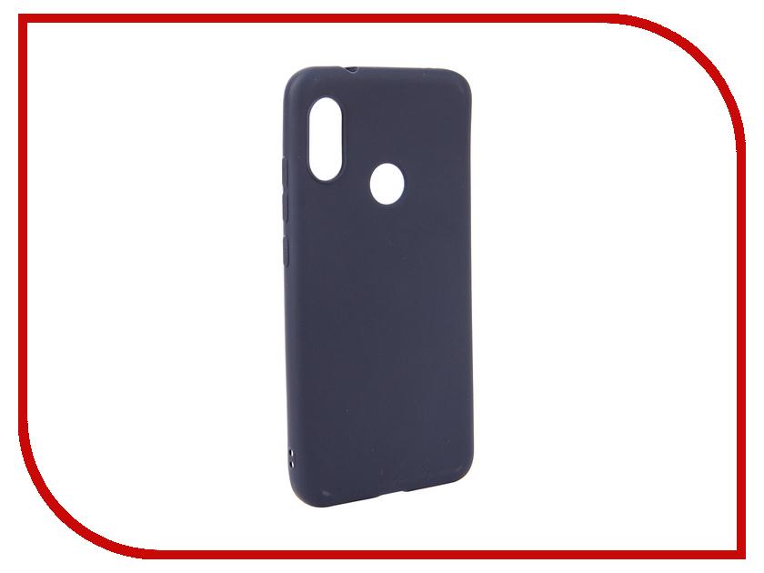 Аксессуар Чехол для Xiaomi Mi A2 Lite Neypo Soft Matte Silicone Dark-Blue NST5464 аксессуар чехол для xiaomi mi a1 neypo neon silicone red nstn3321