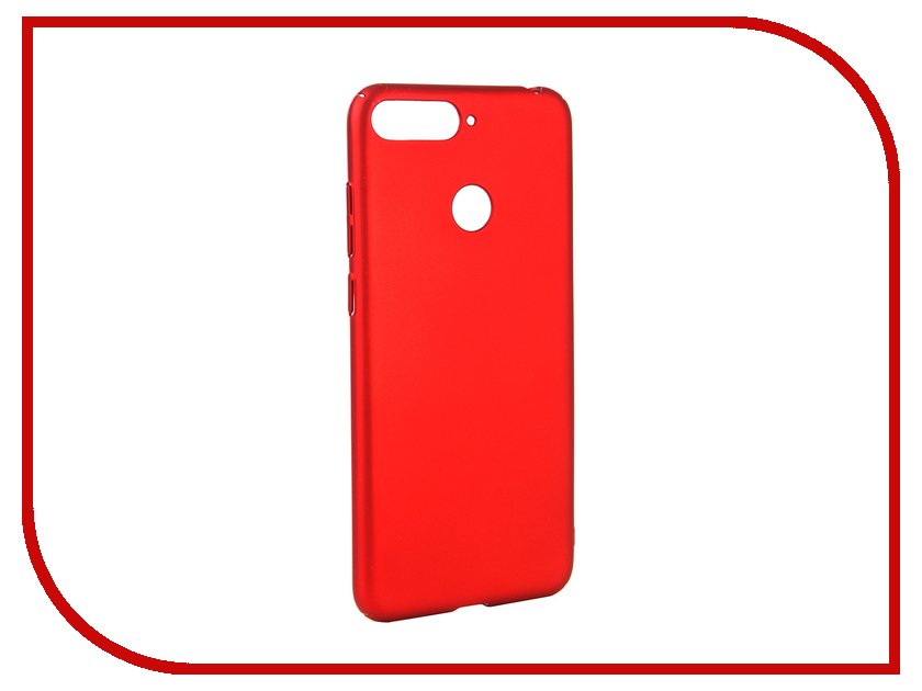 Аксессуар Чехол для Huawei Y6 Prime 2018 Neypo Soft Touch Red ST4662 аксессуар чехол для huawei p20 neypo soft touch red st4374