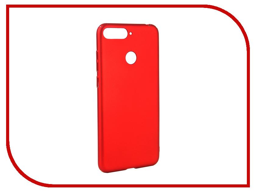 Аксессуар Чехол для Huawei Y6 Prime 2018 Neypo Soft Touch Red ST4662 чехол red line unit для huawei y6 prime 2018 black
