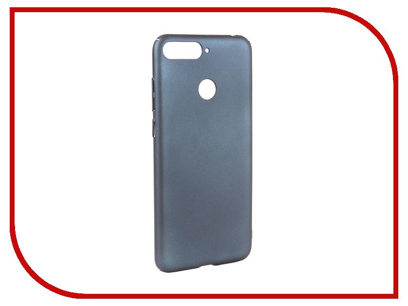 Аксессуар Чехол для Huawei Y6 Prime 2018 Neypo Soft Touch Dark Blue ST4665 аксессуар чехол для xiaomi mi a1 neypo soft touch black st3324
