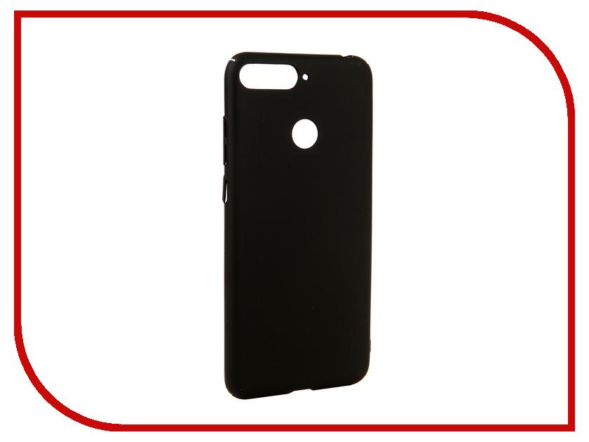 Аксессуар Чехол для Huawei Y6 Prime 2018 Neypo Soft Touch Black ST4661 аксессуар чехол для huawei y6 prime 2018 neypo premium black nsb4472