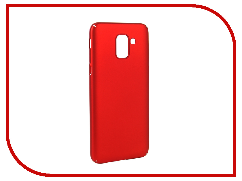 Аксессуар Чехол для Samsung Galaxy J6 2018 Neypo Soft Touch Red ST4650 аксессуар чехол для oneplus 5t neypo soft touch black st3903