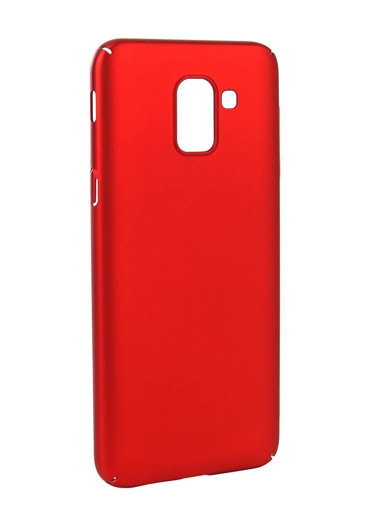 Аксессуар Чехол Neypo для Samsung Galaxy J6 2018 Soft Touch Red ST4650 аксессуар чехол для samsung galaxy j7 neo neypo soft touch black st3772