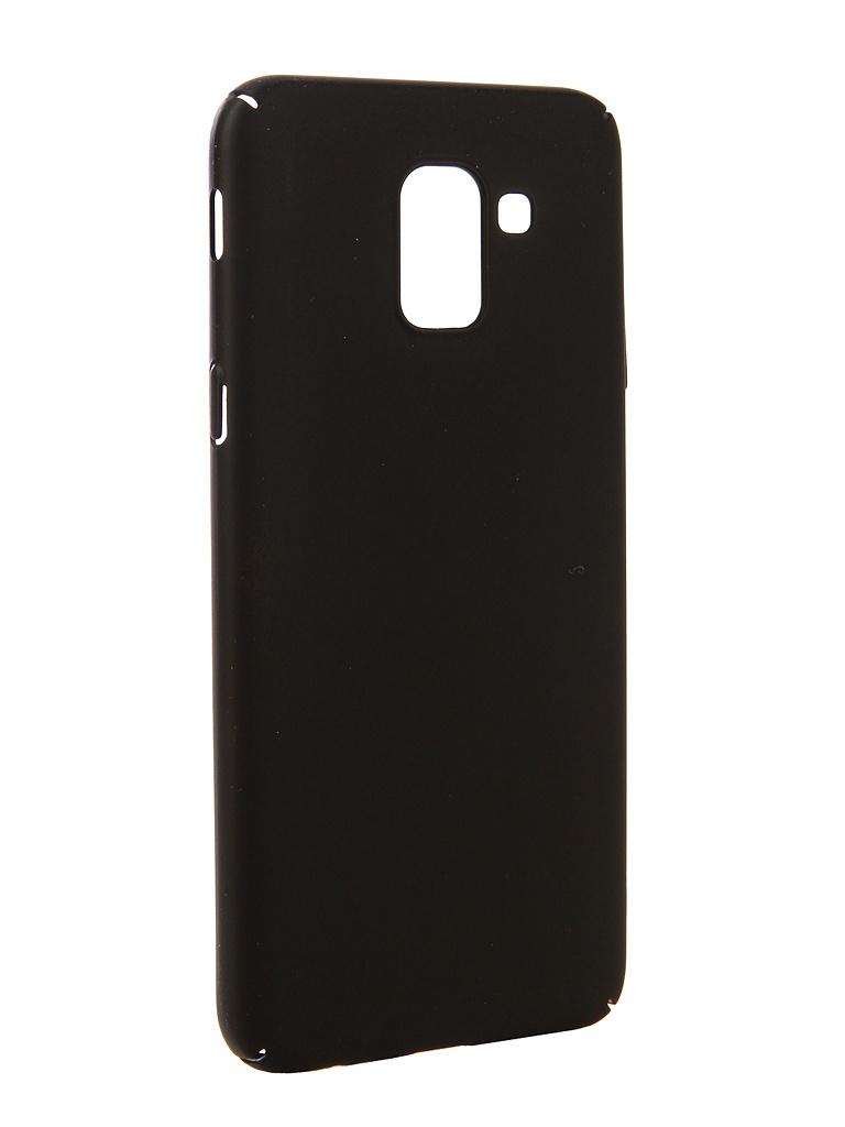 Аксессуар Чехол Neypo для Samsung Galaxy J6 2018 Soft Touch Black ST4651
