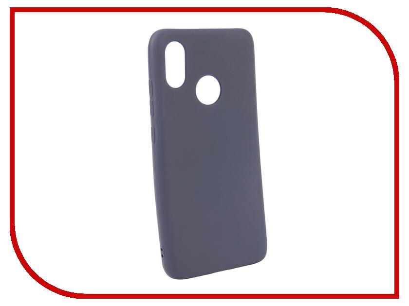 Аксессуар Чехол для Xiaomi Mi8 Neypo Soft Matte Silicone Dark-Blue NST4636 аксессуар чехол для xiaomi mi a1 neypo soft touch black st3324