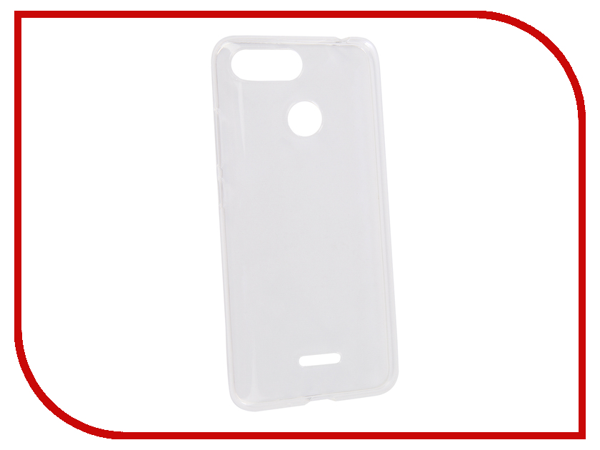 Аксессуар Чехол для Xiaomi Redmi 6 Neypo Transparent NST4978 чехол книжка red line book type для xiaomi redmi 5 black