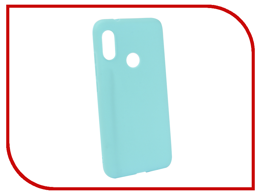 Аксессуар Чехол для Xiaomi Redmi 6 Pro Neypo Soft Matte Silicone Turquoise NST5466 аксессуар чехол для xiaomi redmi 5a neypo soft touch с перфорацией gold st4568